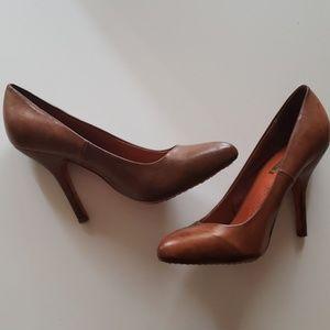 Cognac heels